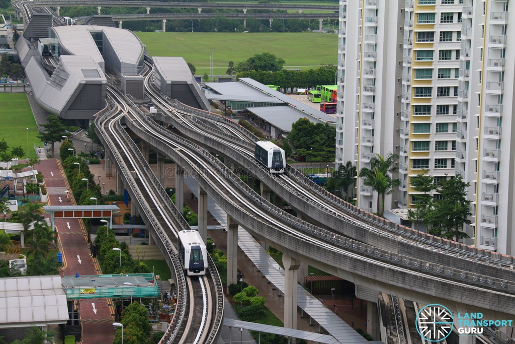 Punggol LRT PGLRT-East-and-West