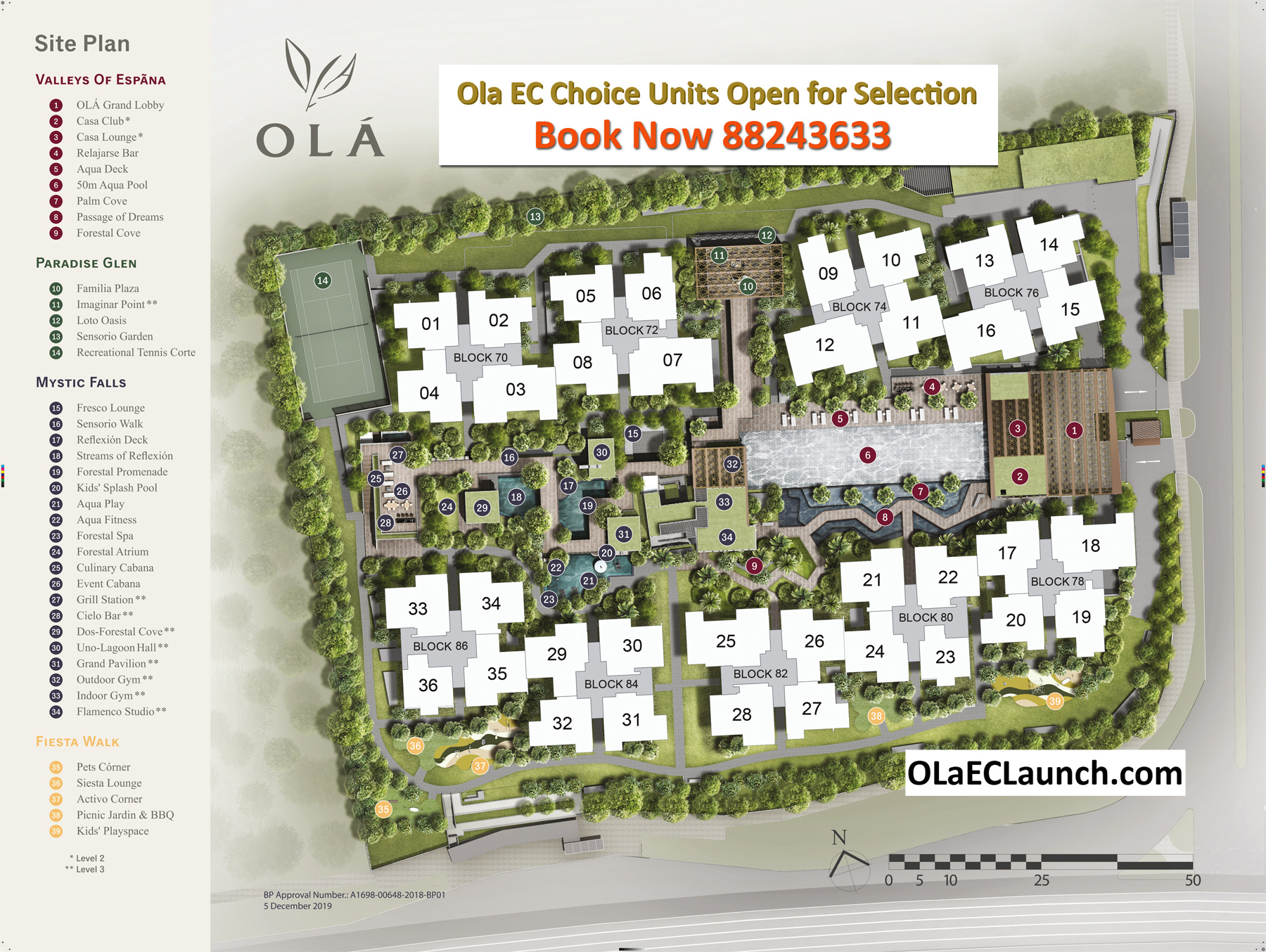 OMA EC Site Plan & Facilities