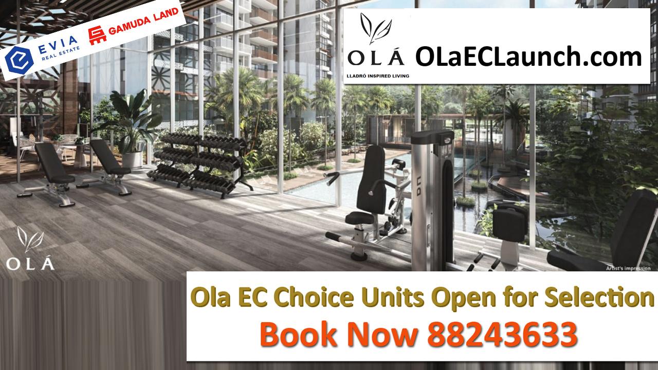 New Sengkang EC Launch Price - OLA EC Gym