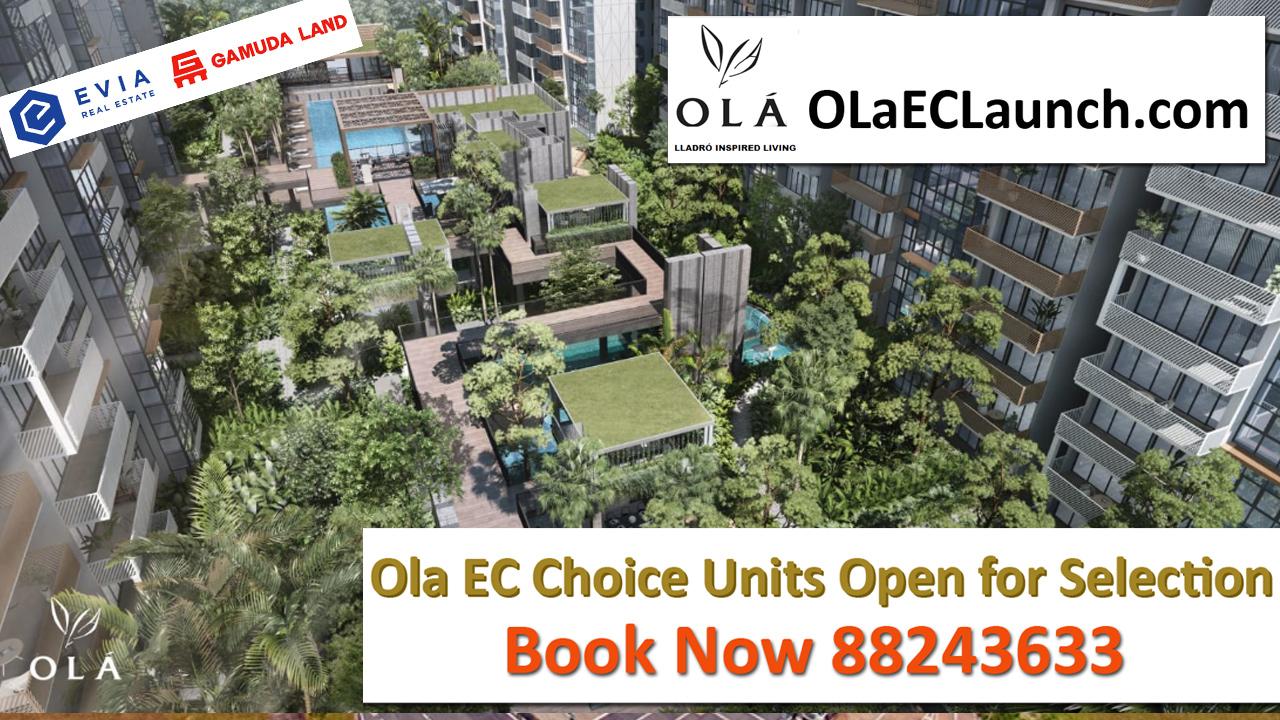 OLA EC - Buy Singapore new Launch Condominium | OLA Full Floorplan Available for Ola EC | Executive Condominium