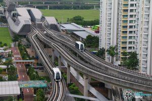 Punggol LRT PGLRT-East-and-West